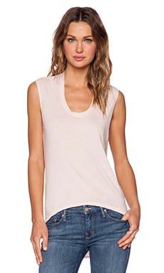 Bobi Light Weight Jersey Tee in Prarie Girl