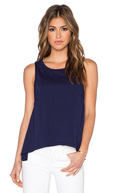 Bobi Pima Cotton Tank in Yacht