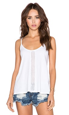 Bobi Pima Netting Tank in White