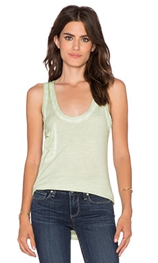 Bobi Cold Water Vintage Wash Pocket Tank in Minty