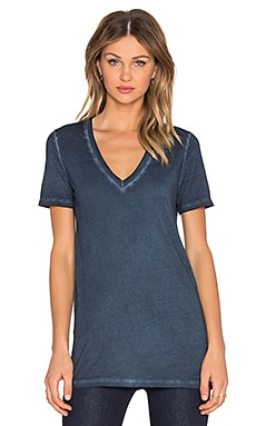 Bobi Cold Water Vintage Wash Tee in Dark Cloud