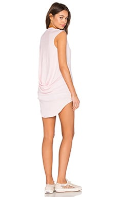 Bobi Light Weight Jersey Hi Low Scoop Neck Tank in Lipgloss
