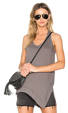 Light Weight Jersey Side Slit Tank