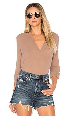Gauze Long Sleeve Top