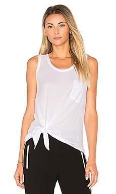 Light Weight Jersey Side Tie Tank