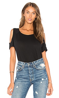 Light Weight Jersey Cold Shoulder Tee