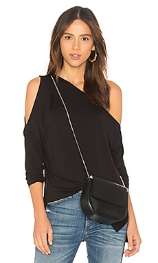 Bamboo Jersey One Shoulder Top Bobi $70 BEST SELLER
