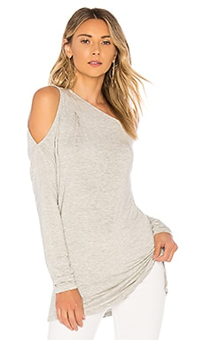 Bamboo Jersey One Shoulder Top Bobi $49