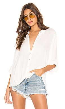 Beach Crepe Button Down Bobi $79 BEST SELLER