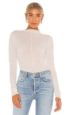 Tissue Slub Top Bobi $51