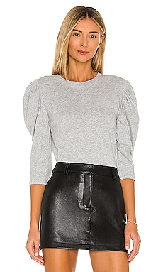 Light Weight Jersey 3/4 Sleeve Top Bobi $44