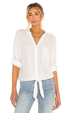Beach Crepe Top Bobi $88 BEST SELLER