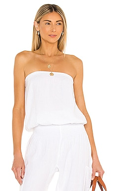 Beach Gauze Top Bobi $66