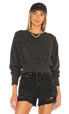 Cozy Heathered Knit Top Bobi $57