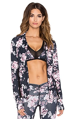 Body Language Ashley Jacket in Bouquet & Black