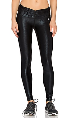 Body Language Scrunchy Legging in Foil