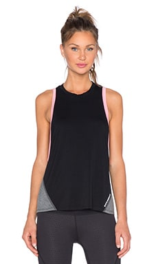 Body Language Mia Tank in Black & Heather Grey & Magenta