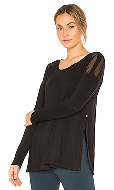 Slit Long Sleeve Top Body Language $37