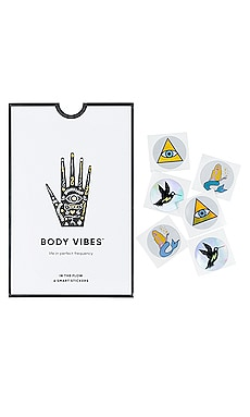 IN THE FLOW 바디 바이브레이션 스티커 Body Vibes $36