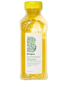 Be Gentle, Be Kind Banana + Coconut Nourishing Superfood Shampoo Briogeo $28