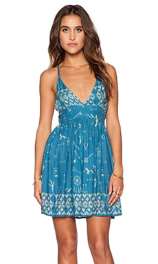 bohemian BONES Sweet Life Dress in Cult Print