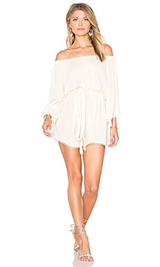 Flow Romper in Vanilla