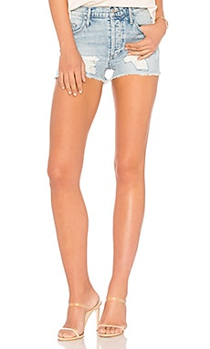 Poppy High Rise Short Black Orchid $89