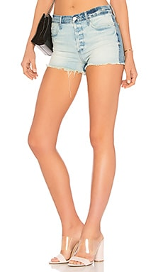 Poppy High Rise Short Black Orchid $57