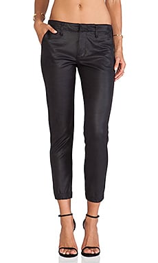 Black Orchid Slouchy Trouser in After Dark