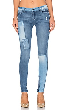 Black Orchid Noah Mid Rise Super Skinny in Groovy Baby