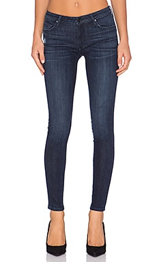 Black Orchid Jude Mid Rise Super Skinny in Fearless