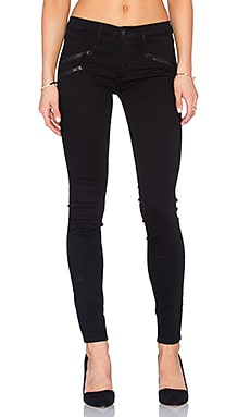 Black Orchid Billie Zipper Skinny in Stay Black