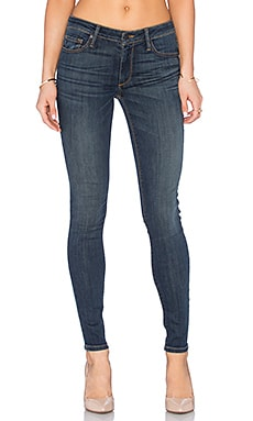 Black Orchid Jude Mid Rise Super Skinny in Outlaw