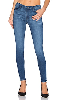 Black Orchid Jude Mid Rise Super Skinny in Out of the Blue