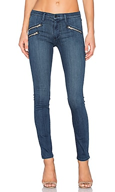 Black Orchid Billie Zip Skinny in Restless
