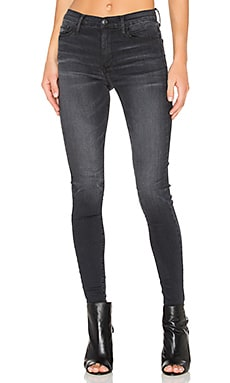 Gisele High Rise Super Skinny in Obisidian