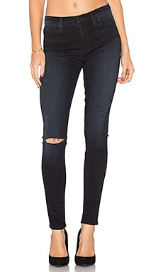 Gisele High Rise Super Skinny in Nocturnal Destroy