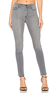 Gisele High Rise Super Skinny in Steel