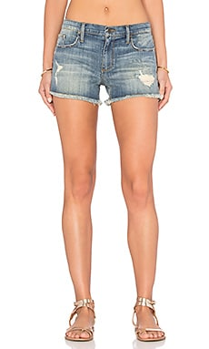 Black Orchid The Boyfriend Short in Havoc