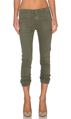 Black Orchid Cargo Slouchy Trouser in Alpha Olive