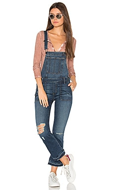 x REVOLVE Mia Crop Overall in Showdown