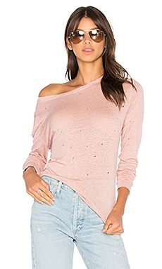 Long Sleeve Tee With Holes
