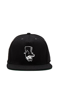 Born x Raised Snooty Fox Ebbets Field Hat in Black