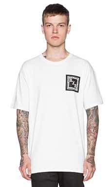 Born x Raised BXR Flag Tee in White