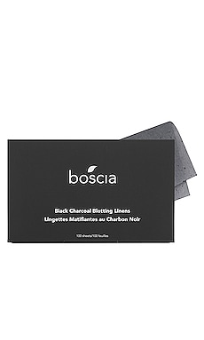 Black Charcoal Blotting Linens boscia $10