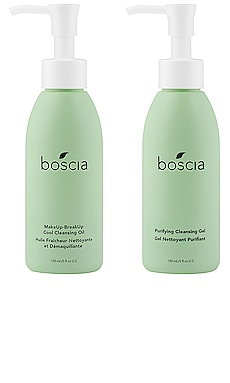 A Clean Slate: The Double-Cleansing Duo boscia $48