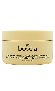 Berry Blend Smoothing Facial with 28% Acid Complex boscia $44