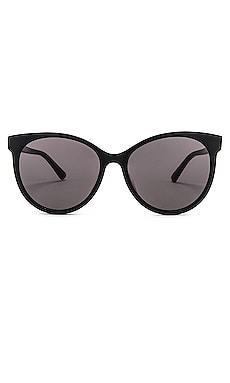 Солнцезащитные очки round - Bottega Veneta