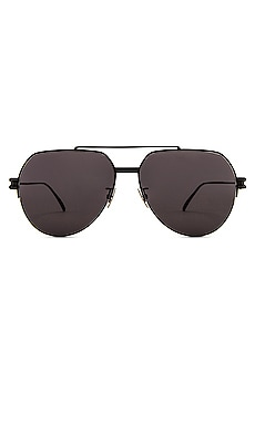 Metal Double Bridge Pilot Bottega Veneta $440