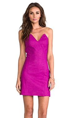 Ashton Dress en Fuchsia